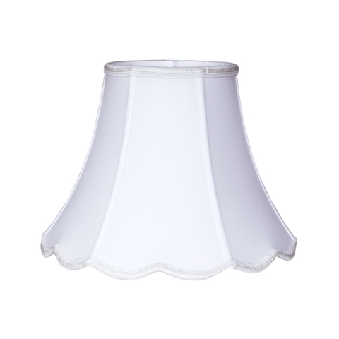 Scallop Bell -- BS--White White
