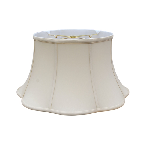 Out Scallop floor lamp shade --EBSC--Sand