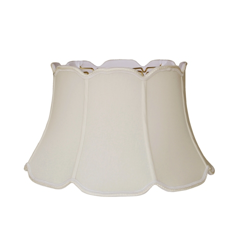 V Notch Junior Floor Lamp Shade --EBV--Sand