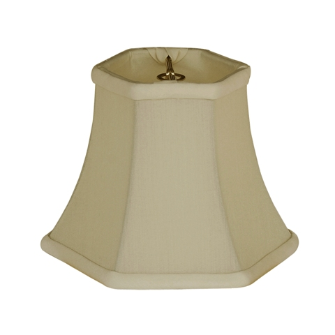 Hexagon Bell-- Candelabra Clip--HB/C--Coffee
