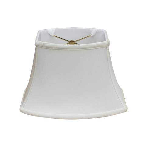 Rectangle Oval Bell--Supreme Satin-Off White--MOW