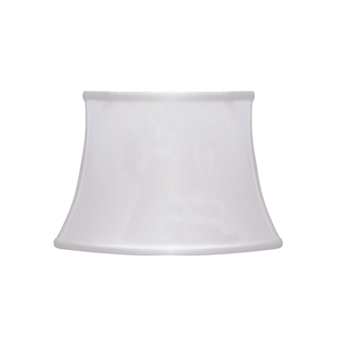 Rectangle Oval Bell--Supreme Satin- White--MW
