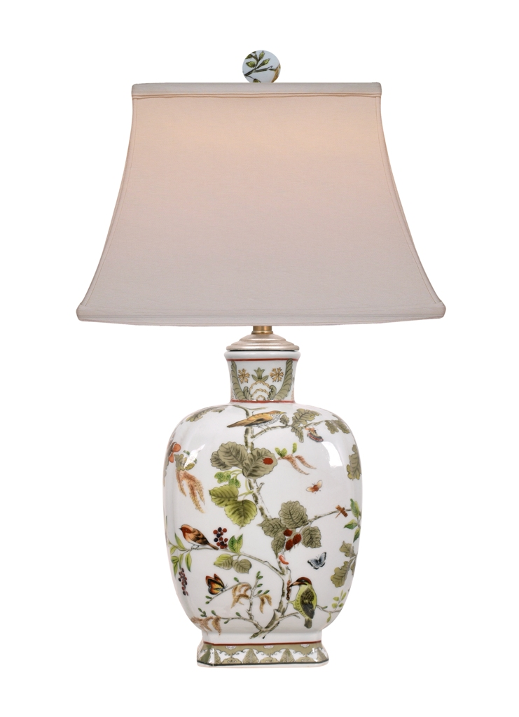 Multi Color Porcelain lamps