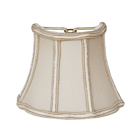 Half Fancy Octagon Sconce Shade--QSH/C--Sand