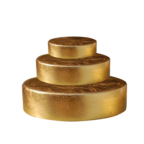 RBRD--ROUND GOLD LEAF BASE