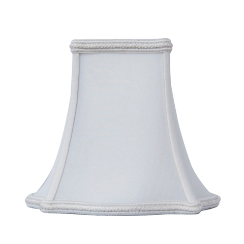 Fancy Bottom Bell Square-Candelabra--S/C--Oyster