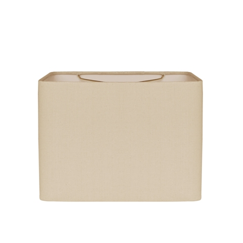 Retro Rectangle Hand Rolled Edge --YLG---Beige